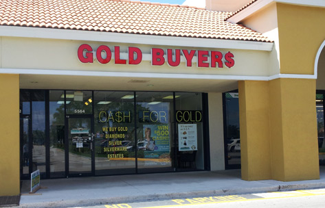 Old Gold, Gold Reef Margate-store